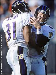 Jamal Lewis and Trent Dilfer
