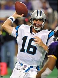San Francisco 49ers quarterback Chris Weinke
