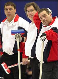 USA curling team