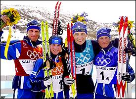Finland's Nordic Combined Team