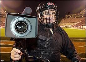 XFL cameraman