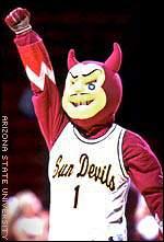 Arizona State Sun Devils mascot