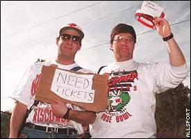 Ticket buyers