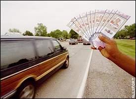 Ticket scalpers