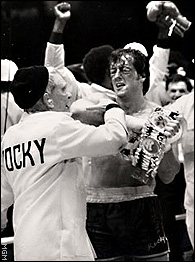 Rocky as champ