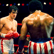 Sylvester Stallone, Carl Weathers