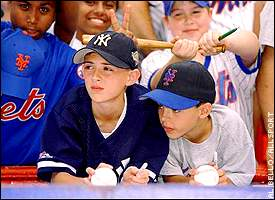 Young New York fans