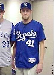 new Royals blue jersey
