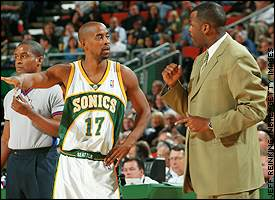 Kenny Anderson, Nate McMillan