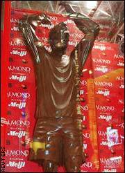 Beckham statue