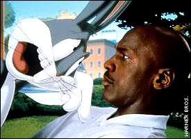 Bugs Bunny and Michael Jordan