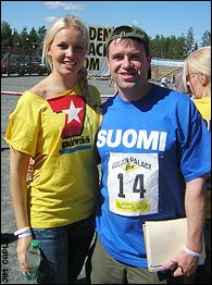 Miss Finland and Jim Caple