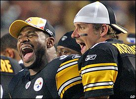 Jerome Bettis, Ben Roethlisberger