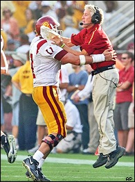 Matt Leinart & Pete Carroll