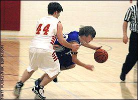 Buckhannon-Upshur High JV boys basketball team