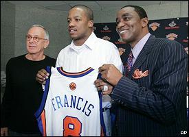 Larry Brown, Steve Francis & Isiah Thomas