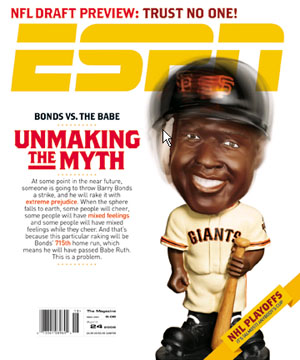Barry Bonds ESPN Magazine cover