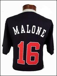 Sam Malone's jersey