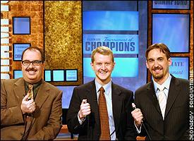 Jerome Vered, Ken Jennings, Brad Rutter