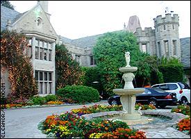 Hugh Hefner's mansion