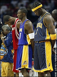 Tracy McGrady, Kobe Bryant, and Jermaine O'Neal