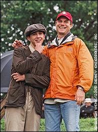 Shia Lebeouf and Bill Paxton