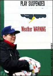 Weather warning