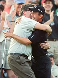 Mike Weir & Dad