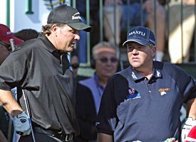 Phil Mickelson, John Daly