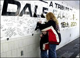Dale Earnhardt memorial