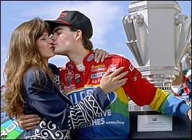 Brooke Sealey & Jeff Gordon