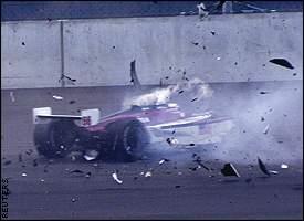 Zanardi crash