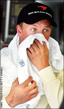 Yes, Kimi, your team stinks.