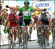 ESPN.com - MORESPORTS/TDF00 - Zabel wins 20th; Armstrong eyes ...