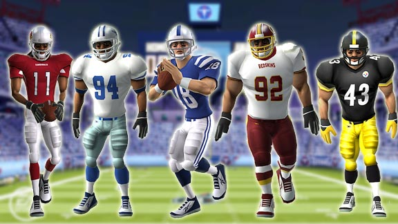 Madden 10 for the Wii.