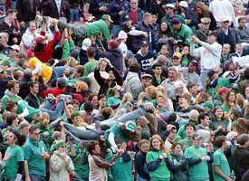 Notre Dame fans