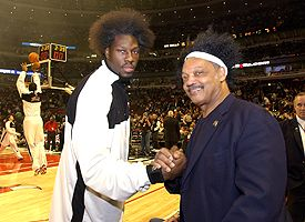 Ben Wallace and Jesse Jackson