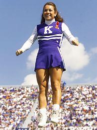 Kentucky cheerleader