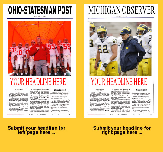 OSU-Michigan headlines