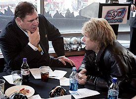 David Baker and Bon Jovi