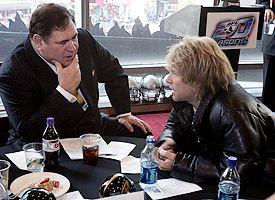 David Baker and Bon Jovi