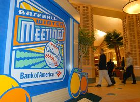Winter meetings sign