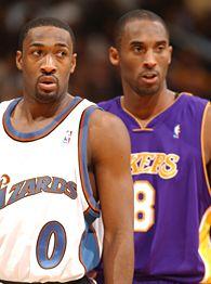 Kobe Bryant and Gilbert Arenas