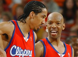 Shaun Livingston and Sam Cassell