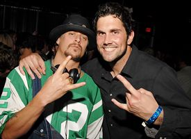 Matt Leinart and Kid Rock