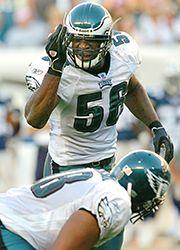 Barber Football : Shawn Barber registered a career-best 141 tackles in 2003.