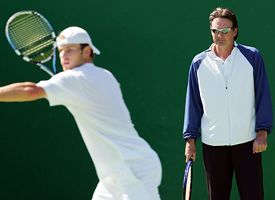 Jimmy Connors and Andy Roddick