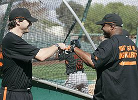 Barry Zito and Barry Bonds