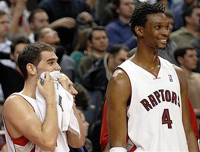 Is this the future dynamic duo for the Raps? Seems more and more likely.