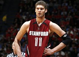 Brook Lopez in Stanford